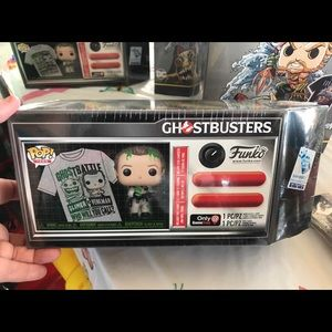 New Ghost busters Funko pop and shirt